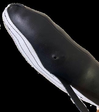 Black Leather Humpback Whale