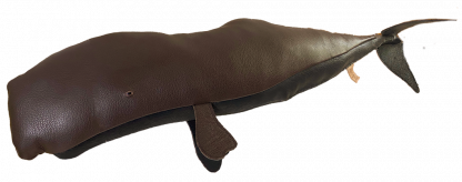 Brown leather Sperm Whale