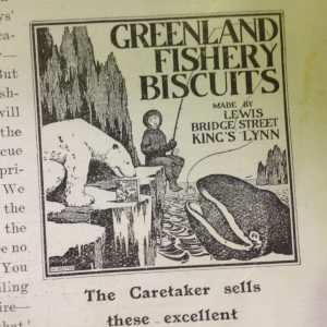 The Greenland Fishery Biscuits