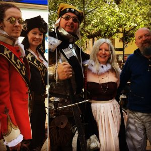 Sir Dudley, The King's Lynn Steampunk Society