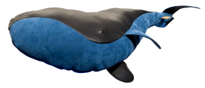 Greenland Right Whale made of leather